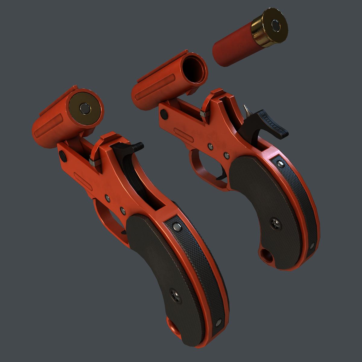 مسدس الوميض ببجي Flare Gun