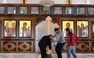 """مدينة درعا السورية تستعد للاحتفال بعيد الميلاد، لكن """"الفرحة ناقصة"""""""