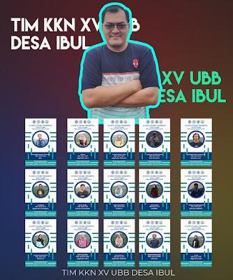 Berikut, Nama-nama mahasiswa UBB yang KKN di desa ibul beserta DPL-wisataibul.com