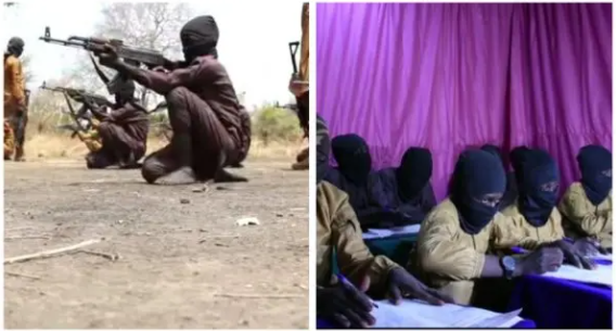Boko Haram releases video of children undergoing combat training in an Unnamed camp in Nigeria