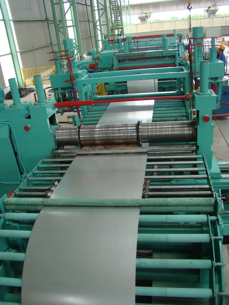 Slitting Line And Steel Coil Slitting Machine
