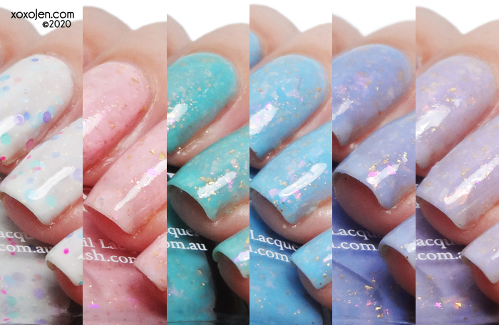 xoxoJen's swatch of Glam Polish  Marie Antoinette Collection (Limited Edition)