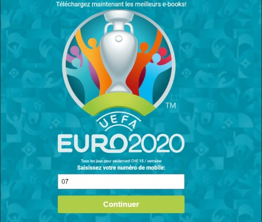 Watch EURO 2020 now!