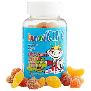 حلاوة فيتامينات ومعادن بالفواكه والخضار للاطفال