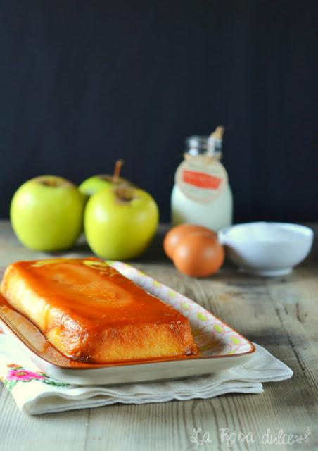 Flan de manzana de Carme Ruscalleda, sin lactosa - La Rosa dulce
