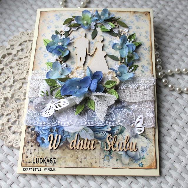 Ślub w błękitach-DT Craft Style