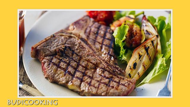 Steak Daging Bumbu Barbeque Ala Rumahan