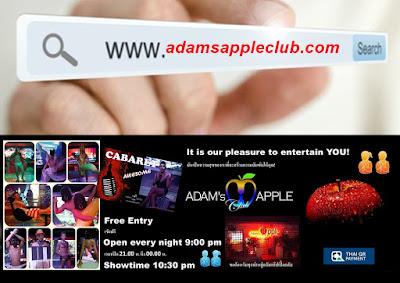 Website Adams Apple Club Chiang Mai Nightclub Host Bar