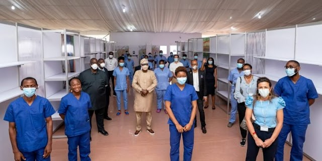 Firms' 11 billion naira life cover for NCDC 5000 health workers fighting against coronavirus pandemic