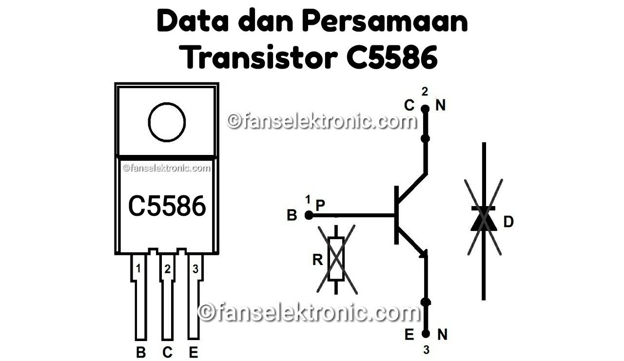 Persamaan Transistor C5586