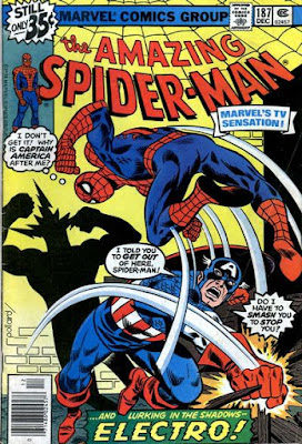 Amazing Spider-Man #187, Captain America and Electro