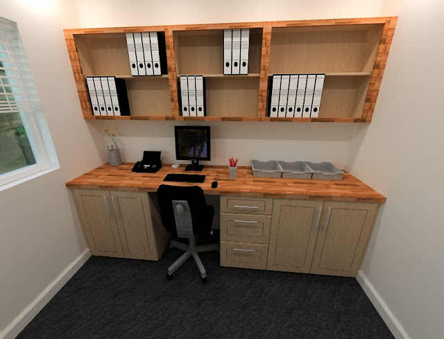 best buy wood home office furniture ZA for small spaces