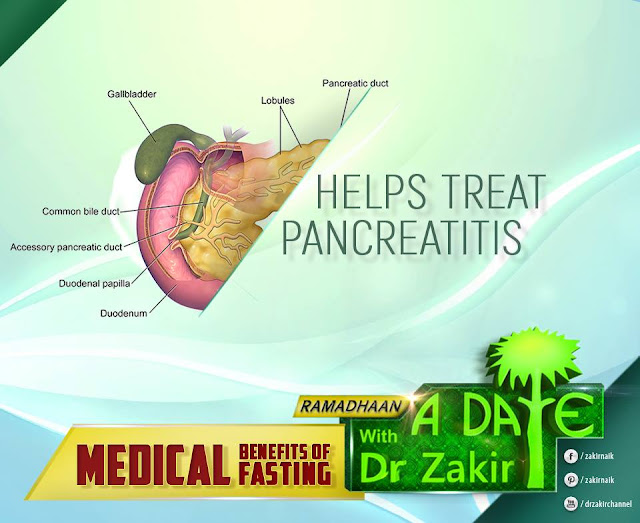 Helps Treat Pancreatitis   RAMADAN 2020 by Ummat-e-Nabi.com