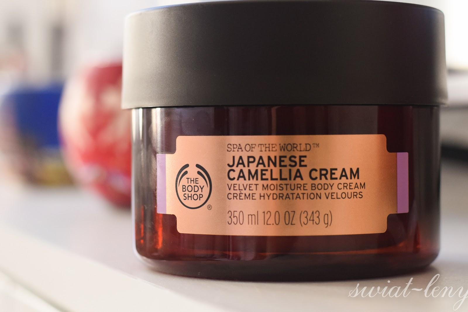 The Body Shop balsam do ciała z olejkiem kameliowym