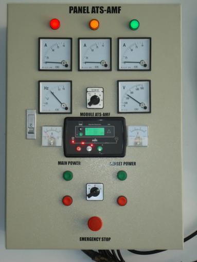 melayani pembuatan dan service panel otomatis genset (ats-amf)