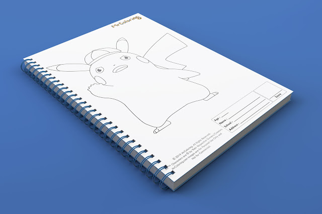 printable-Anime-detective-pikachu-pokemon-template-outline-coloriage-Blank-coloring-pages-book-pdf-pictures-to-print-out-for-kids-to-color-fun-colouring-sheets3