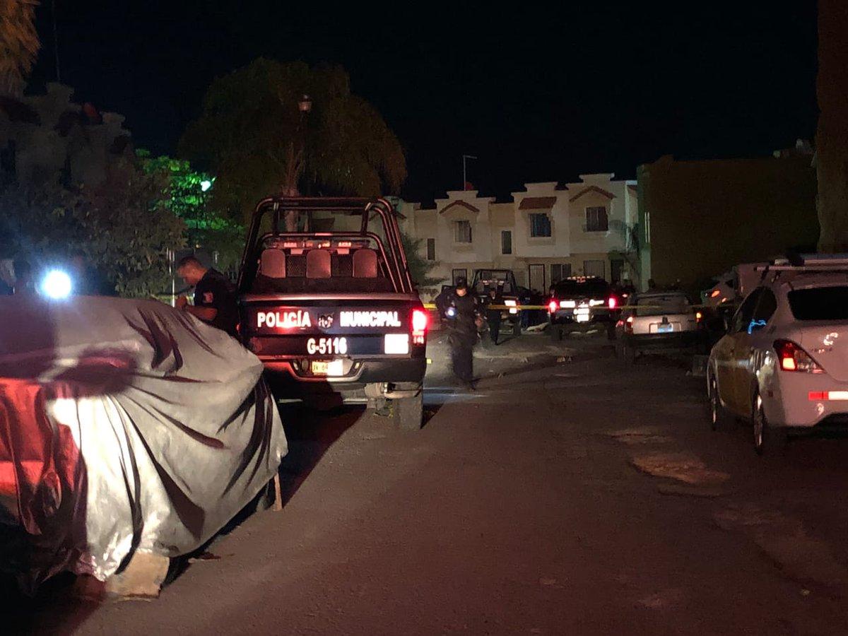 Vídeo, Así se escucho la ejecución de comandante de Policía y su escolta esta noche en Guadalajara