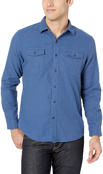 Solid Flannel Shirts For Men