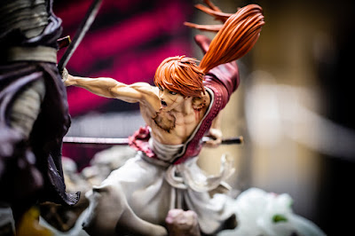 estatua KENSHIN VS SHISHIO de Figurama Collectors