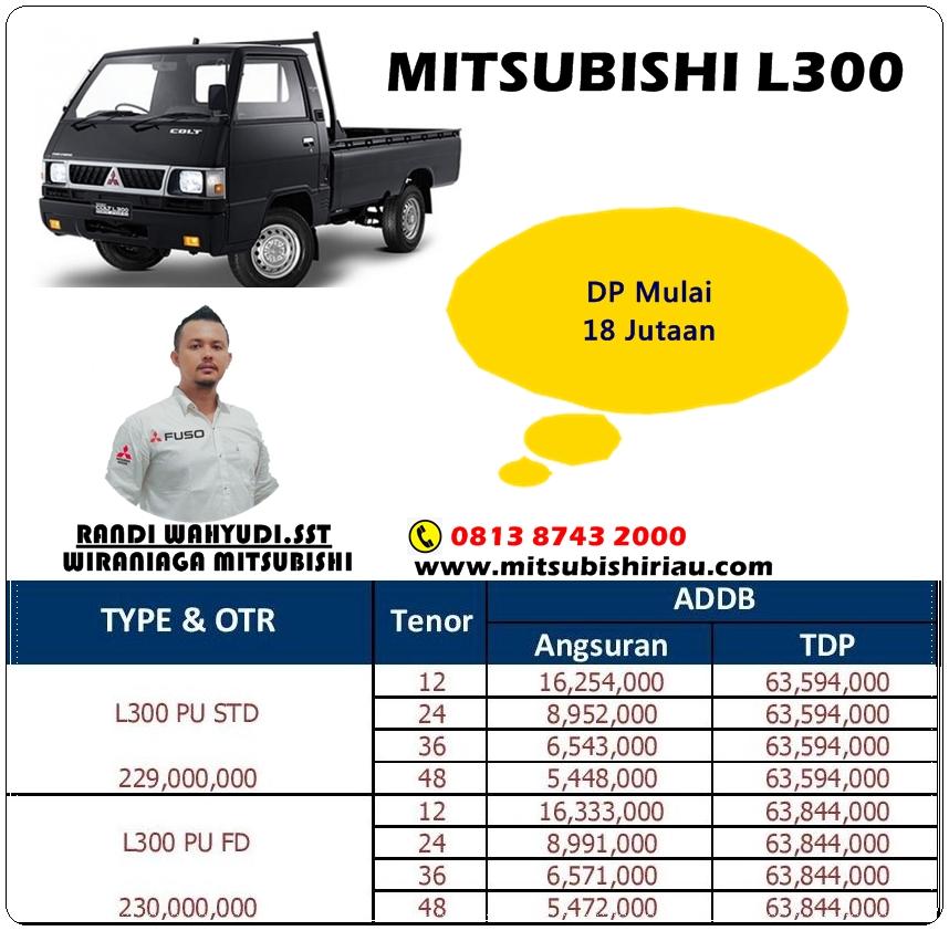 Paket Kredit Mitsubishi L300 Pekanbaru Riau Terbaru 2021