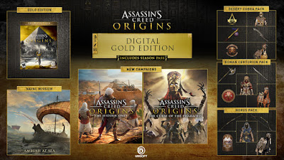 LINKS ONLINE - Assassin's Creed Origins GOLD EDITION [PS4