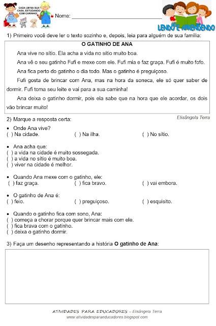 Texto O GATINHO DE ANA, de Elisângela Terra jpg