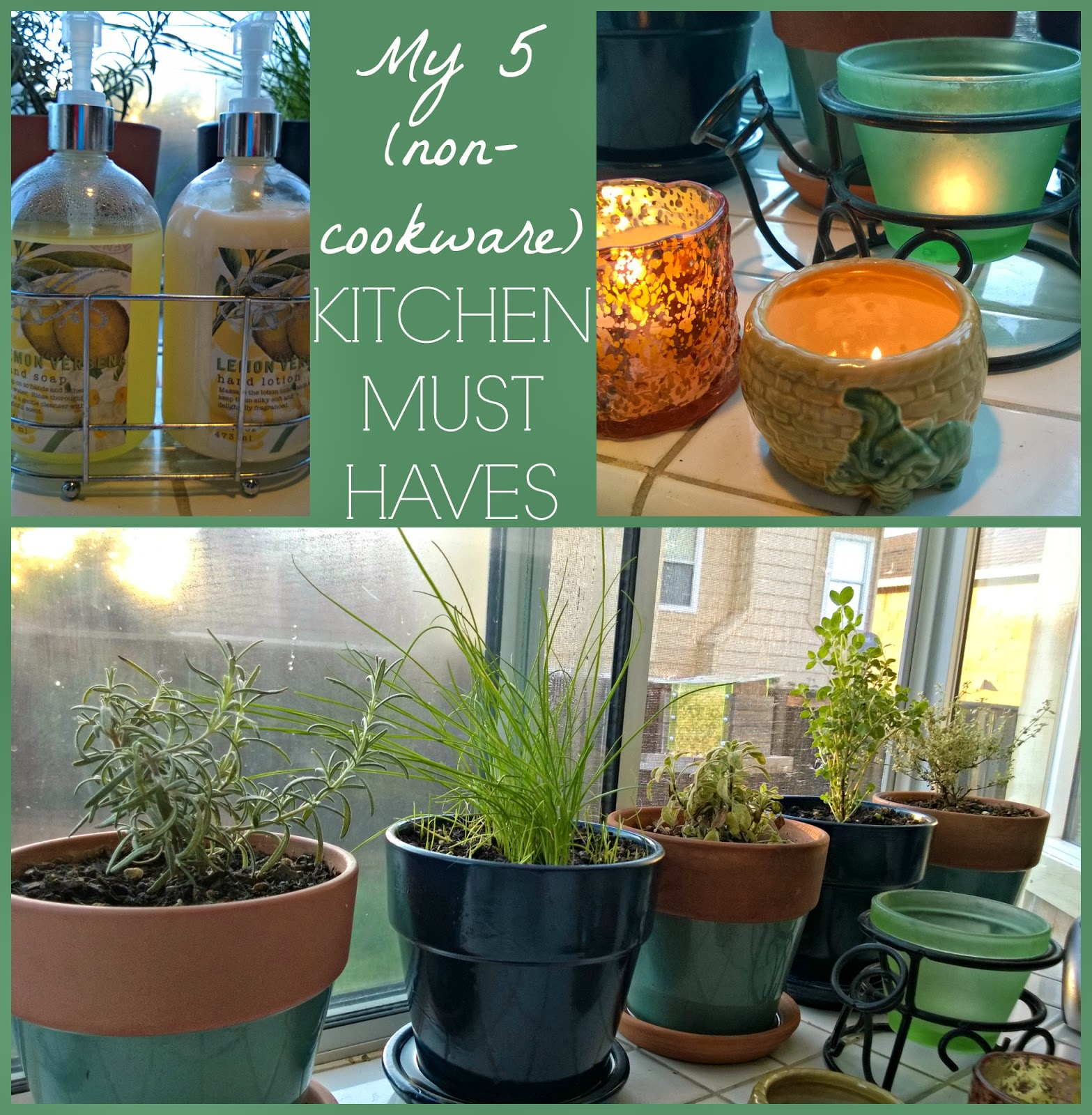 5 Dream Kitchen Must Haves: Creative Mama, Messy House: My Top 5 (non-cookware