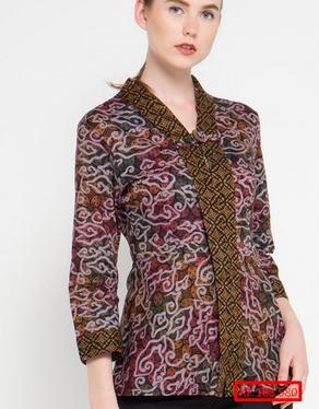 model baju batik indonesia terbaru