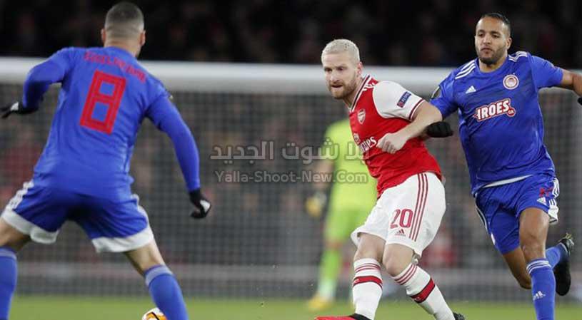 يوسف العربي يقود أوليمبياكوس لدور ثمن النهائي من الدوري الأوروبي بعد الفوز على ارسنال