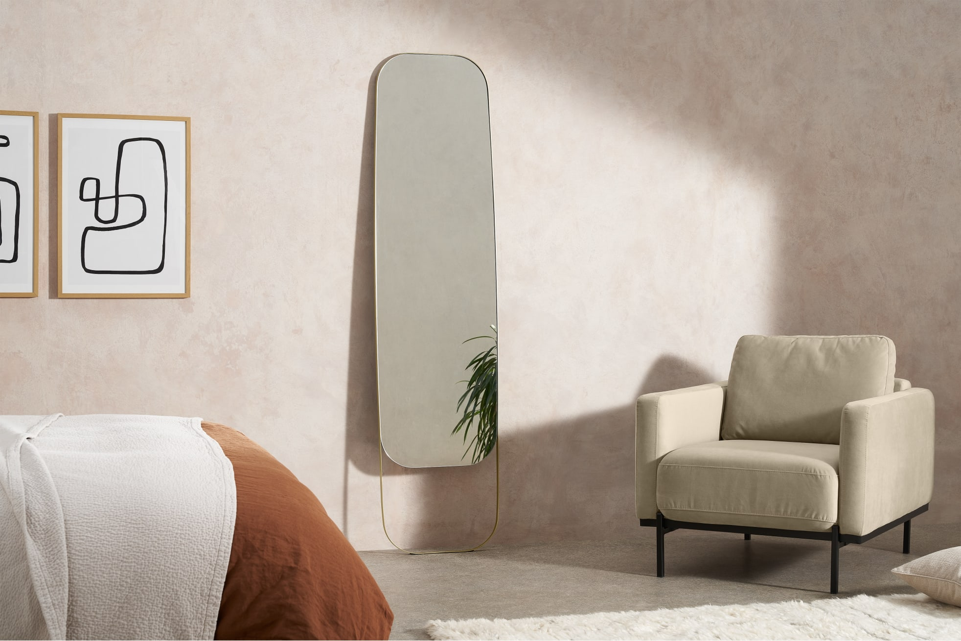 nowoczesne lustra dekoracyjne do salonu