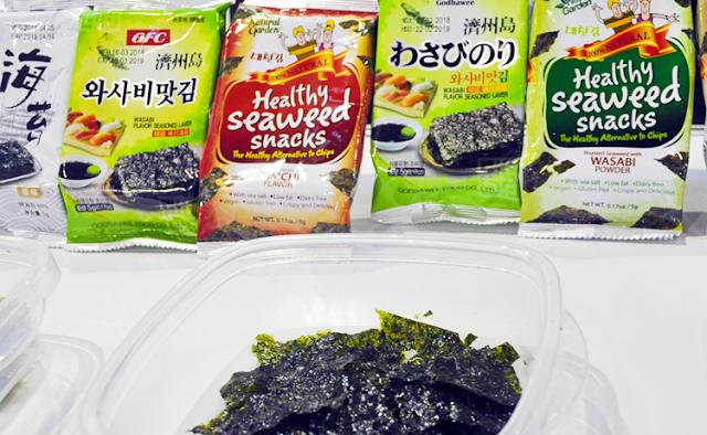 algas de wasabi