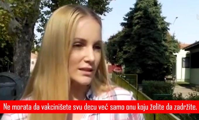 VIDEO: Odbila da vakciniše dete pa dobila poziva za zatvor !