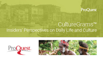 ProQuest Culture Grams Insiders Perspectives on Daily Life and Culture -- images of indigenous people and Venice
