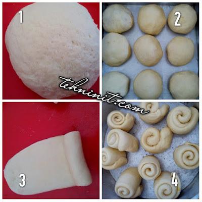 cara membuat Bakpao Lembut Isi Sambel Goreng dan roti kukus