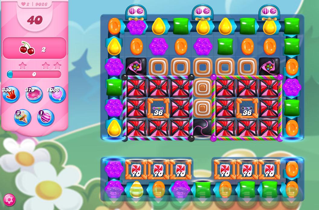 Candy Crush Saga level 9026