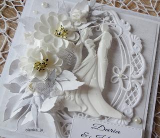 Ślub prawie w bieli