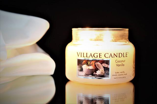 bougie village candle coconut vanilla, coconut vanilla, village candle coconut, bougie coconut vanilla avis, bougie parfumée noix de coco, avis bougies village candle, bougie candle, village candle france, bougie village candle pas cher, bougie parfumée village candle, bougie parfumee, bougie en verre