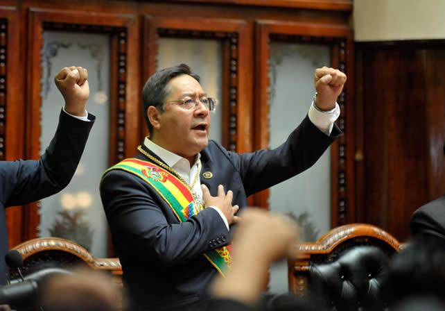 Arce  Catacora pide a gobernadores contratar personal de salud para vencer al COVID-19 en el país