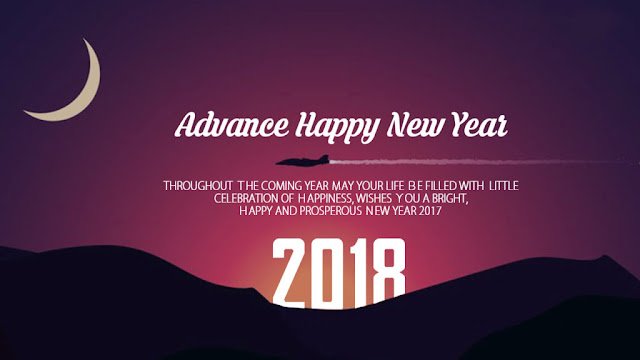 Advance Happy New Year Images 2018