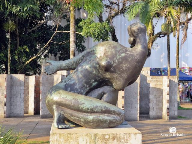 Close-up da Escultura Arminda - Jardim das Esculturas do MuBE - Jardim Europa - São Paulo