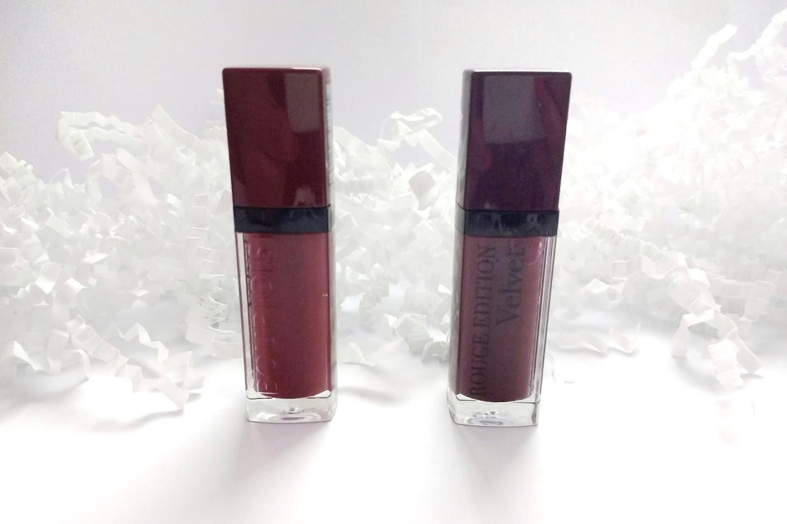 Matowe pomadki w płynie | Bourjois Rouge Edition Velvet