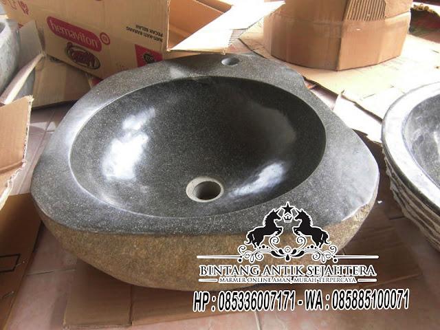 Wastafel Batu Kali Tulungagung | Wastafel Batu Alam Jogja