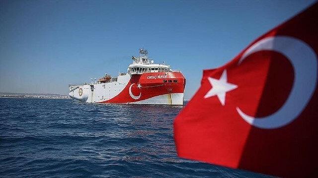 تركيا بالعربي - الدفاع التركية تنشر فيديو لسفينة الريس عروج شرق المتوسط