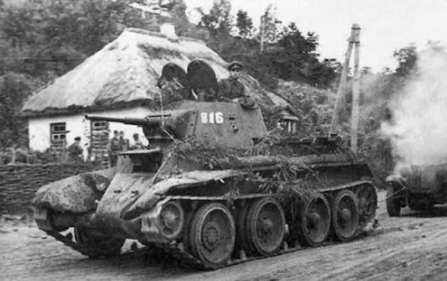 Tank BT-7 Mickey Mouse