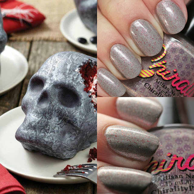 Chirality Nail Polish The Velvet Death