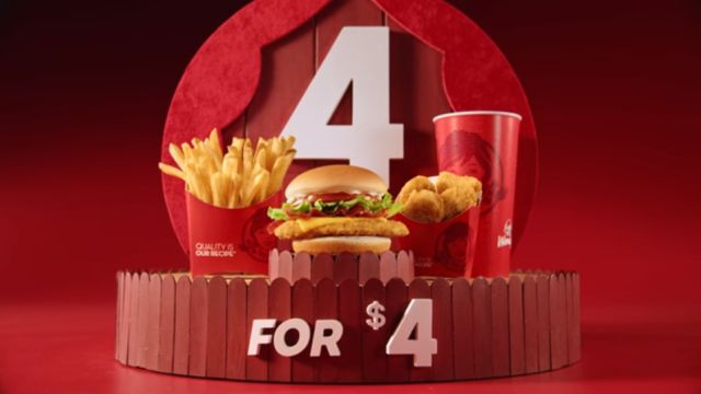 Wendy S Adds Chicken Sandwich Option To The 4 For 4 Meal Deal Brand Eating