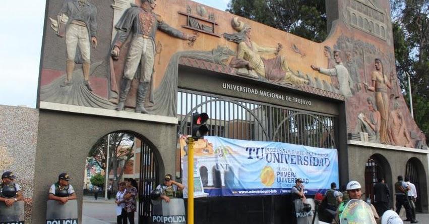 UNT: Más de 600 postularon al Examen de Premios de Excelencia de la Universidad Nacional de Trujillo (Resultados UNT 2019-2 | Domingo 24 Febrero) www.unitru.edu.pe