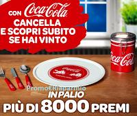 Logo Cancella e vinci con Coca-Cola : in palio 8400 premi