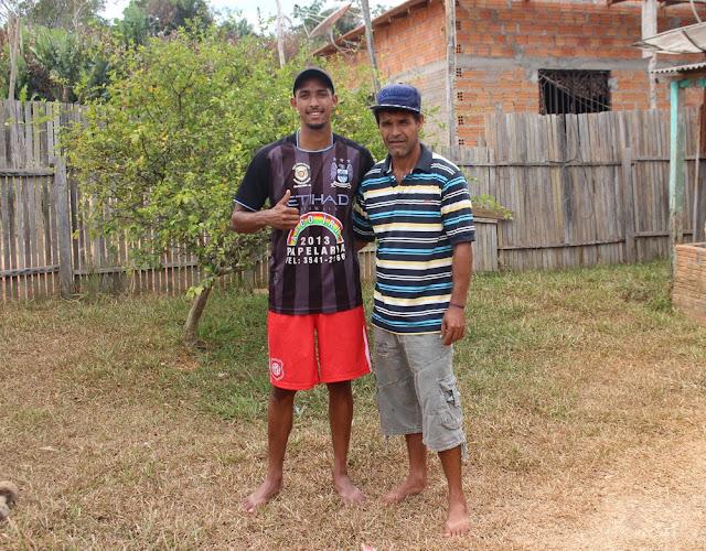 Pai comemora transferência do filho de RO para atuar no futebol paranaense