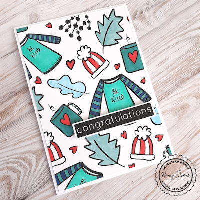 Rachel Vass Designs - Cozy Winter Backgrounds